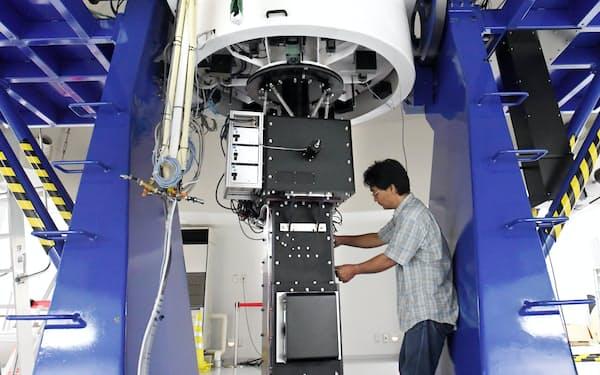 私立大学で国内最大の望遠鏡を備える神山天文台(京都市北区)