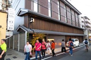 カタログ通販のベルーナが開業した京都グランベルホテル(京都市東山区)