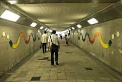 12月に大部分が閉鎖される梅北地下道