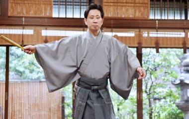 片山九郎右衛門は京都観世会館で「檜垣」を初演する