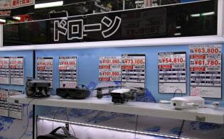 低価格タイプが売れ筋となっている(東京都千代田区のヨドバシカメラマルチメディアAkiba)