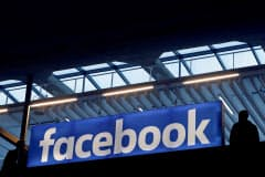 米フェイスブックは議決権のない新株発行計画の撤回を発表した。写真はロイター