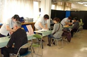 兵庫県尼崎市では健康ポイントで健診の受診者が増えた