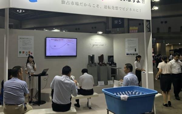 葬送業界には業者の新規参入が続いている(東京・江東、8月24日)