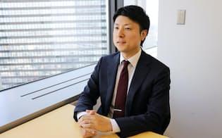 「金融機関の将来不安を理由に転職活動を始める人が増えている」と指摘するエン・ジャパンの原田正孝・金融コンサルリーダー
