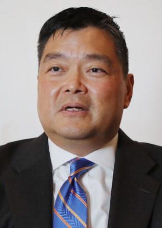 アド・マチダ氏(Ado Machida) 1964年ニューヨーク生まれ。トランプ政権移行チームの「政策実行チーム」の総責任者。3月からコンサルティング会社の共同経営者。53歳。