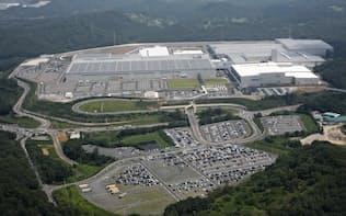 マザー工場として増強投資を行う寄居工場(寄居町)
