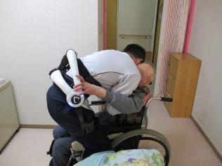 日本では介護ロボットの導入は道半ばだ(埼玉県の福祉施設)