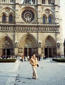 フランスに留学した大学4年のころ(1972年)