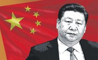 中国の習近平国家主席(コラージュ)