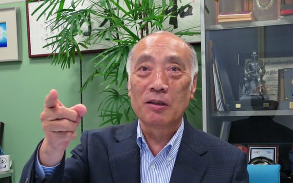 信州大学の遠藤守信特別特任教授