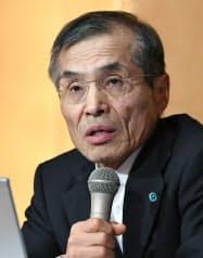 大阪大学総長・西尾章治郎氏(にしお・しょうじろう) 1951年生まれ。75年京都大学工学部卒、大阪大学工学部教授を経て2015年から現職。