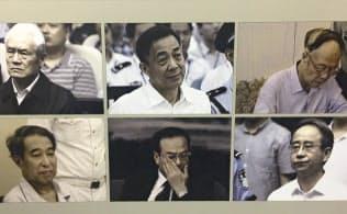 孫政才・前重慶市党委書記は習時代5年で処分された「6腐敗分子」の代表格に(北京展覧館の展示から)