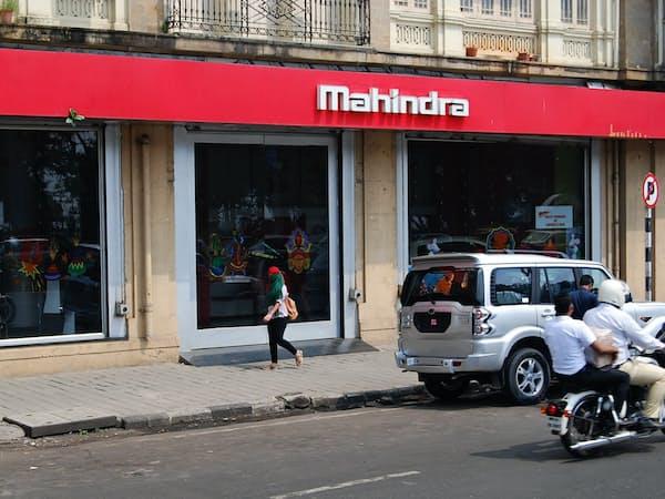 地場大手マヒンドラ・アンド・マヒンドラは9月の乗用車の販売が前年同月比23%増えた(ムンバイ)