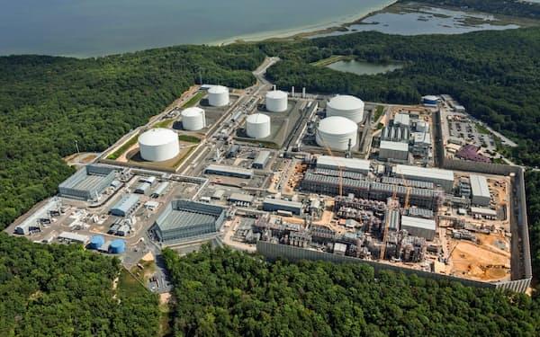 東京ガスや住友商事が参加するコーブポイントLNG(米メリーランド州)