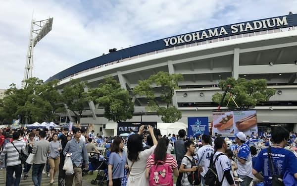 19年ぶりの日本一に期待が高まっている(横浜市の横浜スタジアム)