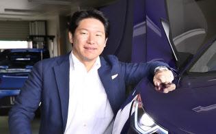 小間裕康GLM社長は超高級スポーツEVの事業化を目指す