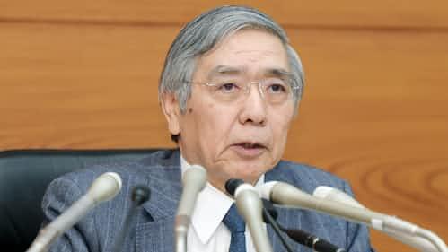 日銀総裁、変化の真意 金融緩和「副作用」増える言及
