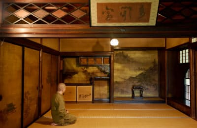 書院は京都御所から移築された