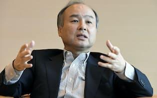 ソフトバンクグループの米携帯事業の再編に対する市場の関心は高い(孫正義会長兼社長)