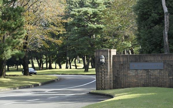 安倍首相とトランプ米大統領がゴルフをする予定の霞ケ関カンツリー倶楽部(埼玉県川越市)