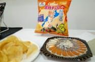 カルビーのご当地ポテトチップス第2弾の1つ、滋賀県の「鮒ずし味」ポテチ