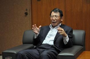 日本証券金融の増渕稔会長