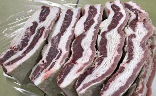 米国産の冷凍牛肉の輸入はセーフガード発動後も衰えていない