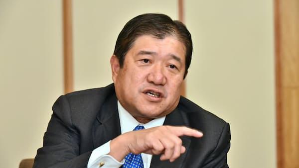 三井物産安永竜夫社長「商社モデルの優位性、外部に見やすく」