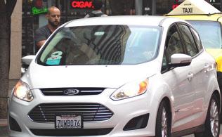 サンフランシスコ市街ではウーバー車がタクシーの15倍の規模に