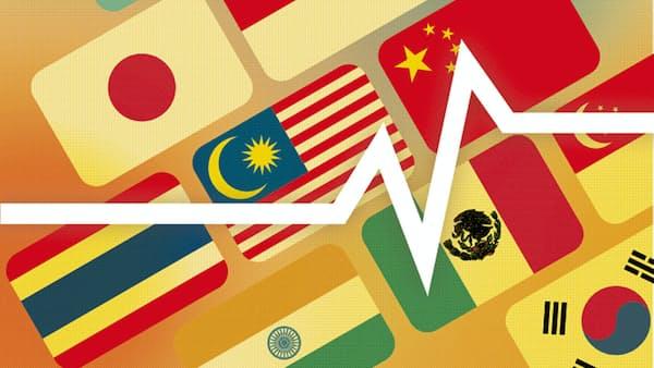 インドネシアルピアが最も上昇 原油価格急落で買い