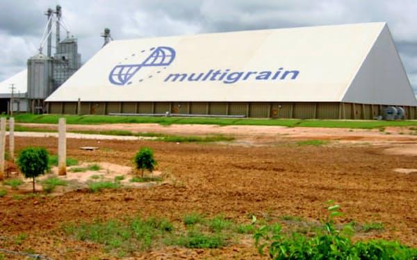 三井物産は今期中にマルチグレインの抜本的な処理にメドを付ける方針(ブラジルの同社工場)