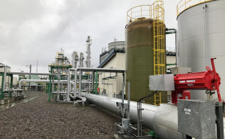 二酸化炭素を回収して、地中に埋める実験が進む(北海道苫小牧市)
