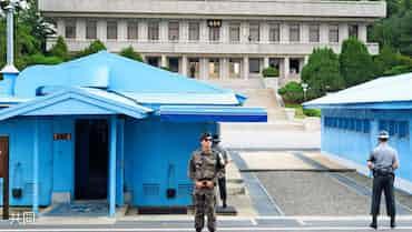 北朝鮮軍、兵士亡命時に韓国侵犯か 映像公開が中止