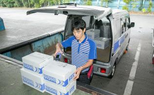 佐川急便は宅配便の基本運賃を60~230円引き上げた