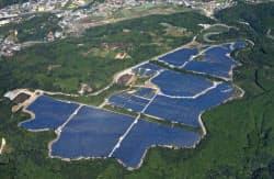 カナディアン・ソーラーの日本法人が熊本県に建設したメガソーラー