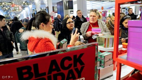 黒字の金曜日、百貨店活況は本物か