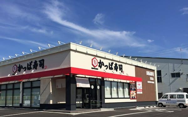 既存店のテコ入れを進めている(神奈川県横浜市のかっぱ寿司都岡店)