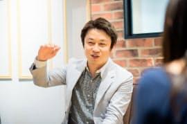 チャットワーク社長の山本敏行氏(38)
