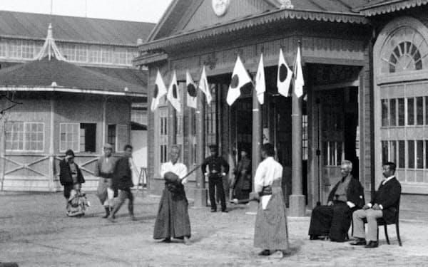 映画「リュミエール!」には京都で撮影された「日本の剣士」も収録されている