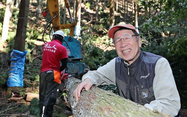 林業家、後藤国利氏