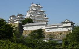 世界遺産で国宝の姫路城