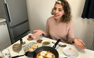 エジプトの定番家庭料理が外国人宅の台所で気軽に学べる(東京都中野区)