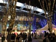 イルミネーションやクリスマスマーケットを開催中(さいたま市)