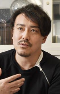 皆川氏はマーケティング担当と競技本部長を兼ねる