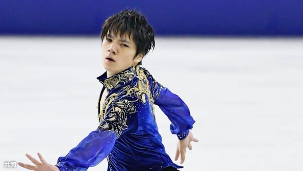 宇野が連覇、初の五輪切符 全日本フィギュア男子