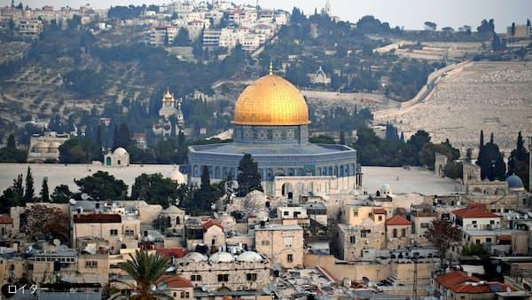 米大使館のエルサレム移転、5月に パレスチナ反発