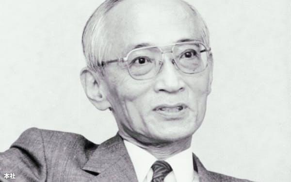 元マツダ社長の山本健一氏(1992年撮影)