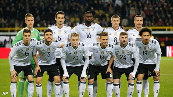 独・仏・ブラジル 3強が軸 サッカーW杯