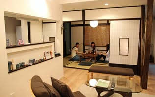 東京都大田区は民泊の全国解禁に先立ち「特区民泊」を導入(特区民泊物件への体験宿泊の様子)